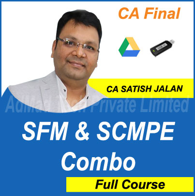 CA Final SFM and SCMPE Combo Full New Course by Satish Jalan
