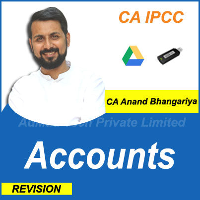 CA IPCC Accounts Revision Old Course by CA Anand Bhangariya
