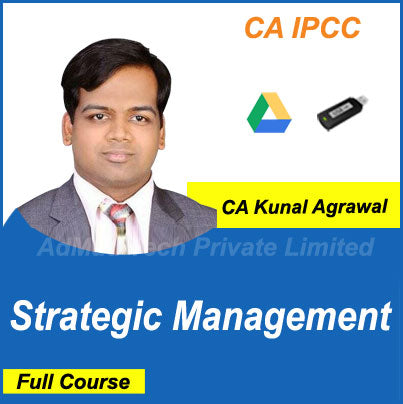 CA IPCC Strategic Management Full Old Course by CA Kunal Agrawal
