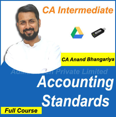 CA Intermediate Accounting Standards (AS Only) Full New Course by CA Anand Bhangariya