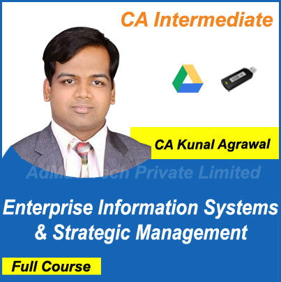 CA Intermediate EIS & Strategic Management Full New Course by CA Kunal Agrawal