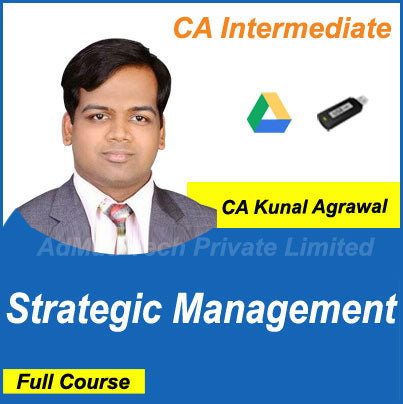 CA Intermediate Strategic Management Full New Course by CA Kunal Agrawal