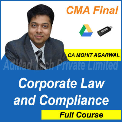 CMA Final Corporate Law and Compliance Full Course by CA Mohit Agarwal