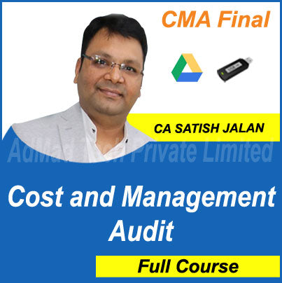 CMA Final Cost and Management Audit Full Course by Satish Jalan