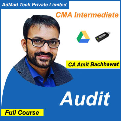 CMA Intermediate Audit Full Course by Amit Bachhawat