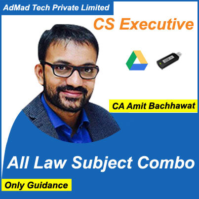 CS Executive All Law Subject New Combo Course (Only Guidance) by Amit Bachhawat