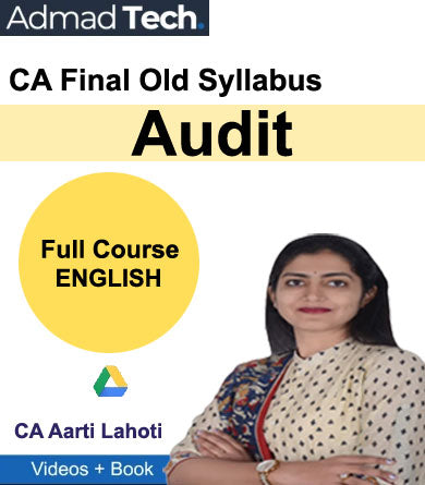 CA Final Audit Full Old Course by CA Aarti Lahoti