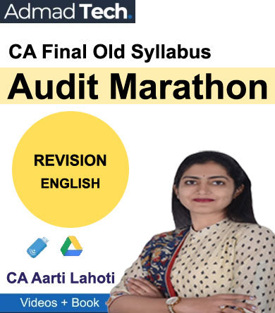 CA Final Audit Marathon Revision Old Syllabus by CA Aarti Lahoti