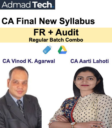 CA Final FR & Audit Full New Syllabus Combo by CA Vinod K Agarwal & CA Aarti Lahoti