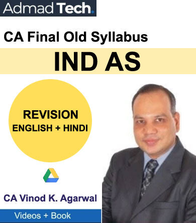 CA Final IND AS Revision Old Course by Vinod Kumar Agarwal