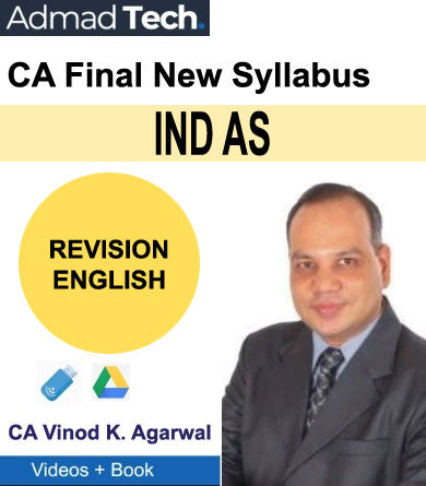 CA Final IND AS New Course Revision by CA Vinod Kumar Agarwal