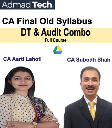 CA Final DT & Audit Combo Full Old Course by Aarti Lahoti & Subodh Shah