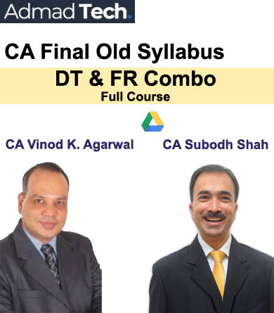 CA Final DT & FR Combo Full Old Course by Vinod Kumar Agarwal & Subodh Shah