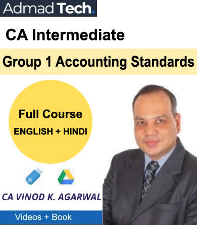 CA Intermediate Group 1 Accounting Standards Full Course by Vinod Kumar Agarwal
