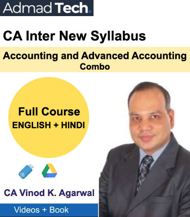 CA Inter Accounting and Advanced Accounting Combo Full Course by Vinod Kumar Agarwal