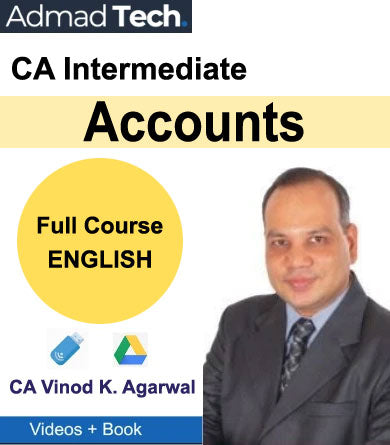 CA Intermediate Accounts Full Course [ENGLISH] by CA Vinod Kumar Agarwal