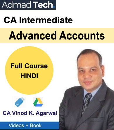 CA Intermediate Advanced Accounts Full Course [Hindi] by CA Vinod Kumar Agarwal