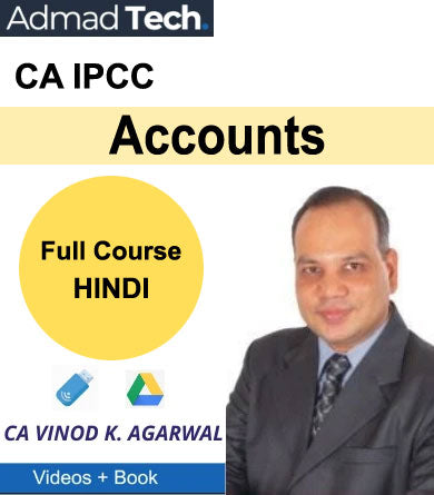 CA IPCC Accounts Full Course by Vinod Kumar Agarwal