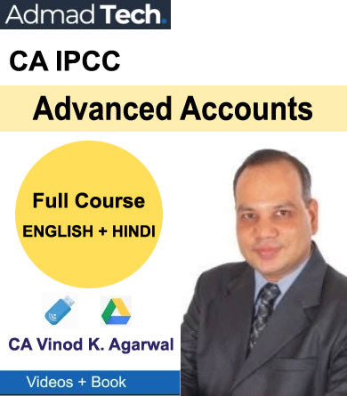 CA IPCC Advanced Accounts Full Course by CA Vinod Kumar Agarwal