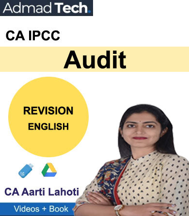CA IPCC Audit Revision by CA Aarti Lahoti