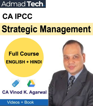 CA IPCC Strategic Management Full Course by CA Vinod Kumar Agarwal