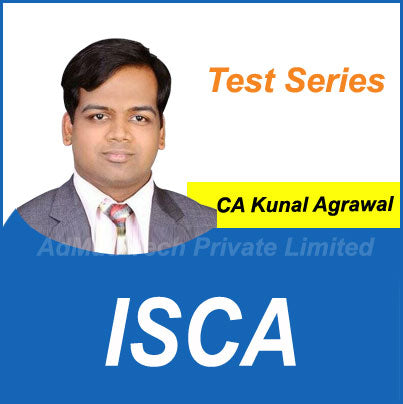ISCA Test Series by CA Kunal Agrawal