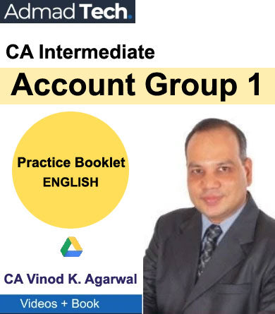 CA Intermediate Account Practice Booklet Group 1 by Vinod Kumar Agarwal