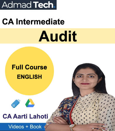 CA Intermediate Audit Full Course by CA Aarti Lahoti