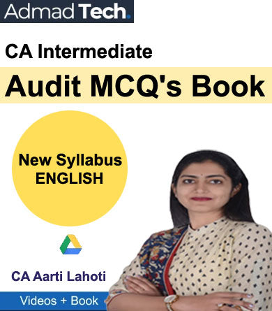 CA Intermediate Audit MCQ's Book New Syllabus by Aarti Lahoti