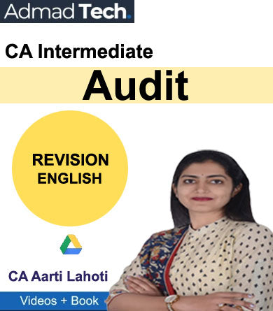 CA Intermediate Audit Revision by Aarti Lahoti