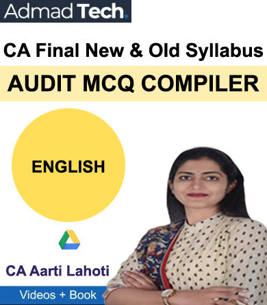CA Final Audit MCQ Compiler New & Old Course by Aarti Lahoti