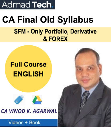 CA Final SFM - Only Portfolio, Derivative & FOREX Full Old Course by Vinod Kumar Agarwal
