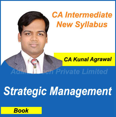 CA Intermediate Strategic Management Book New Course by CA Kunal Agrawal