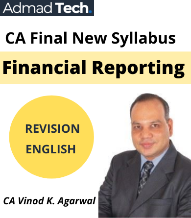 Vinod Kumar Agrawal CA Final New Course revision