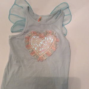 Top with wings Little Princess Size 8