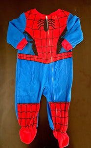 "Marvel ""Spider Man"" pajamas size 18 mo"