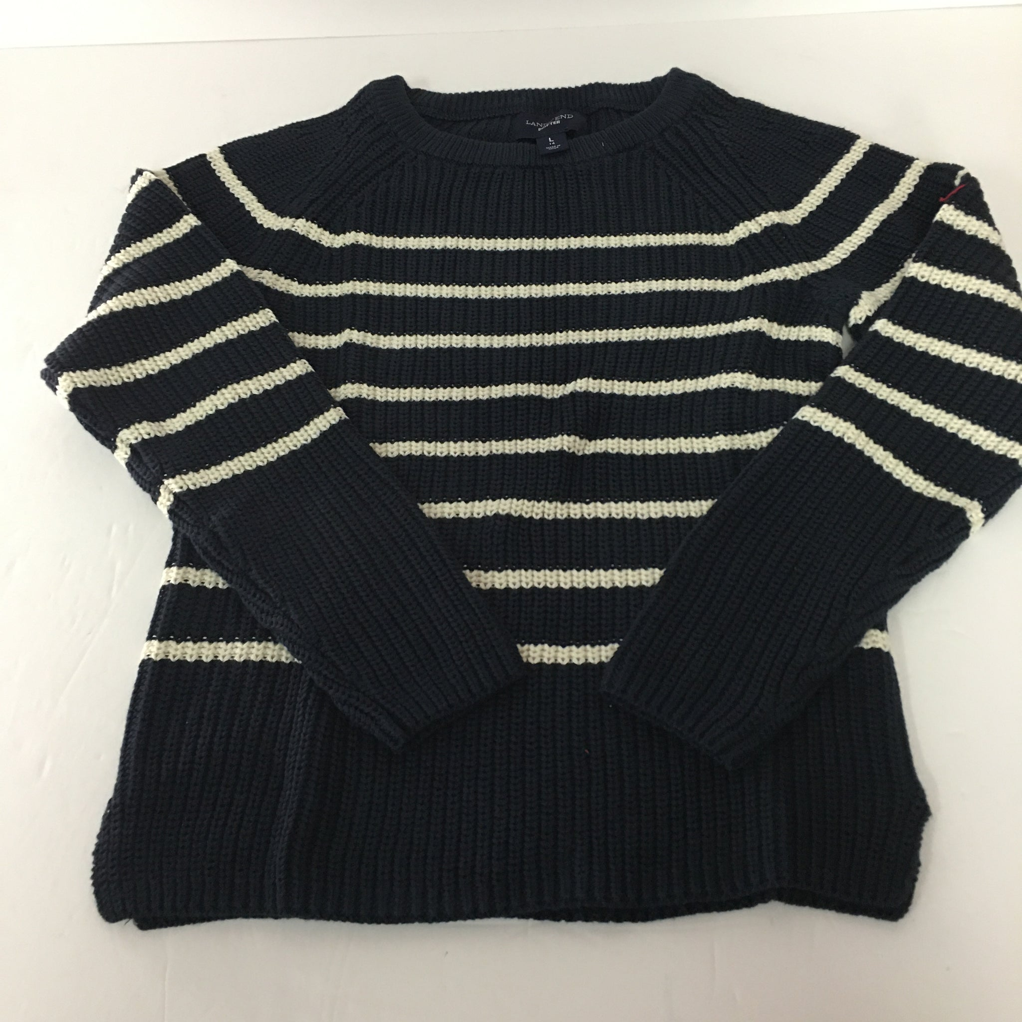 Sweater Lands End size 14