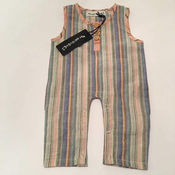 Romper Peas and Queues NWT size 3-6 m