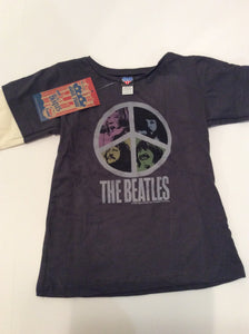 Top Junk Food The Beatles NWT size 18-24m