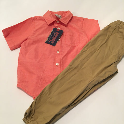 Outfit Red Rivet Size 4T