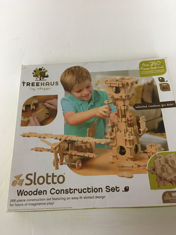 Toy Treehaus toy Shoppe slot to wooden Construction Set