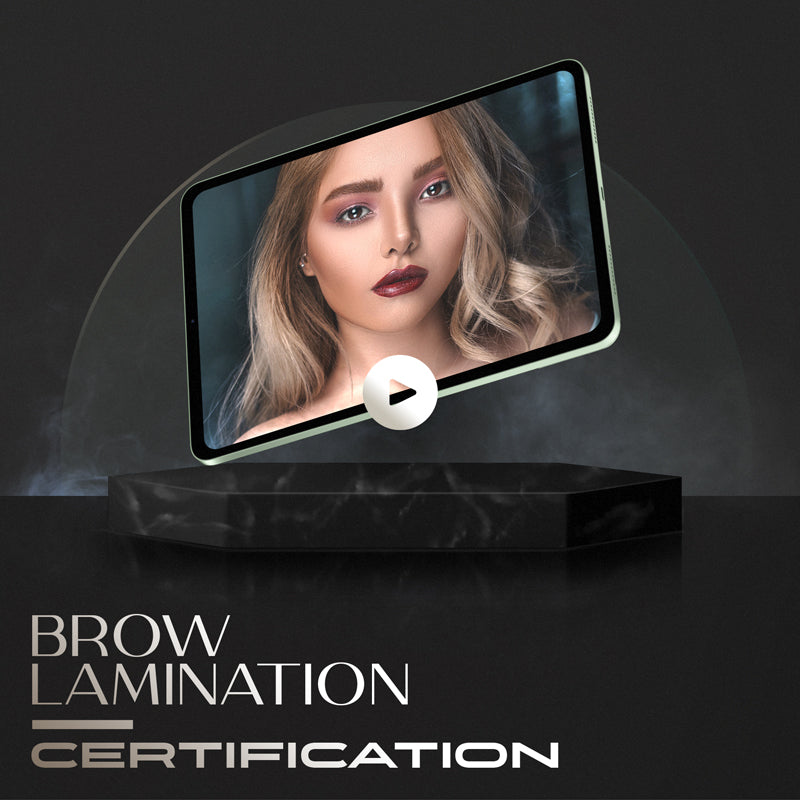 brow lamination online training