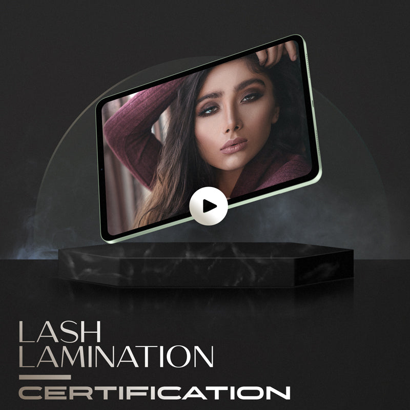 lash lift online training