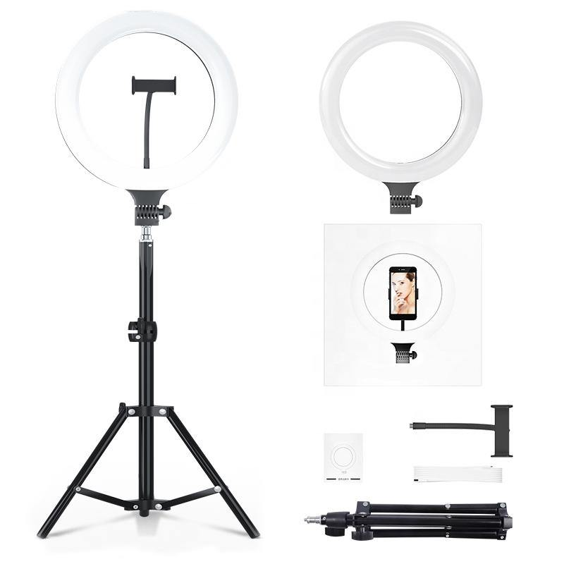 "10"" LED Ring Light with Tripod Stand & Phone Holder"