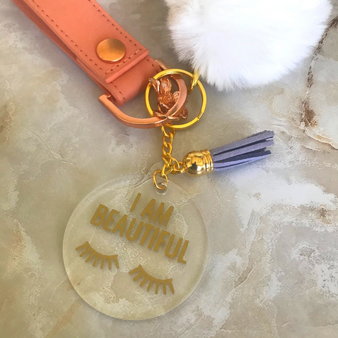 I Am Beautiful | Key Chain