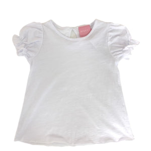 White Essential Puff Tee