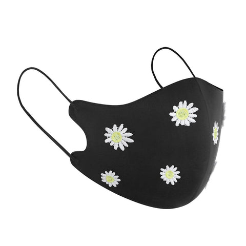 Anti-dust Reusable Face Cover Cloth Embroidery Cover Summer Mask
