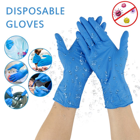 20/100Pcs Disposable Nitrile Gloves