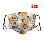 Fashion Printing Dust Mask Dust proof Windproof Fog Haze Pm2.5 Filter