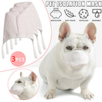 3pcs Dog Mouth Mask